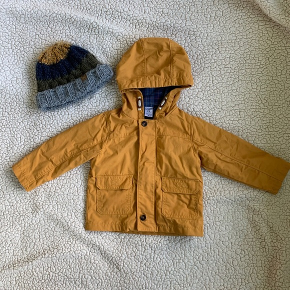 Adorable toddler boy spring coat 24m